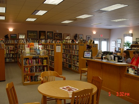 Rolfe Library interior